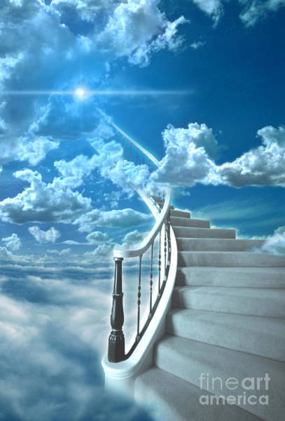 Stairway To Heaven Wall Art - Photograph - Stairway To Heaven by Mike Agliolo