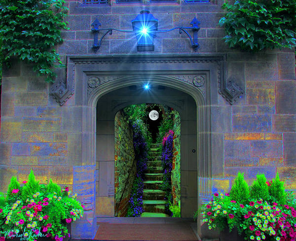 Digital Art - Stairway To Paradise  by Michael Rucker