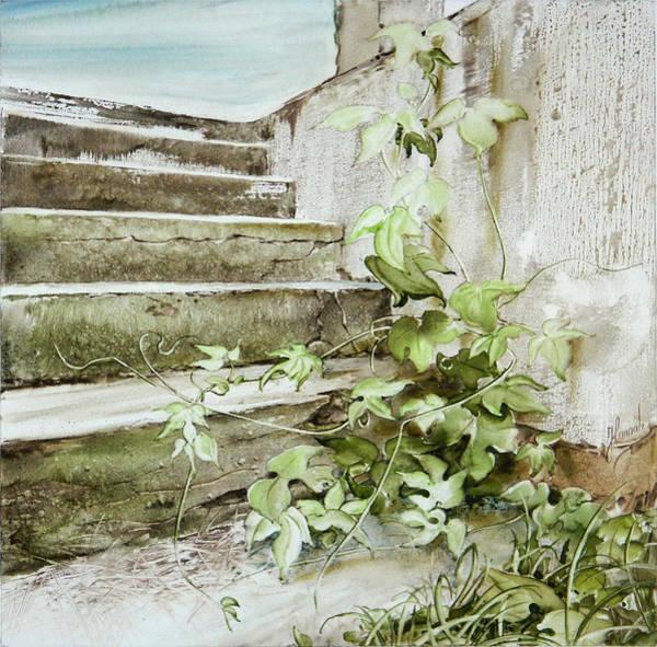 Painting - Stairway To Sky by Anna Ewa Miarczynska