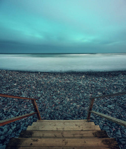 Maritime Provinces Photograph - Stairway To The Atlantic by Shaunl