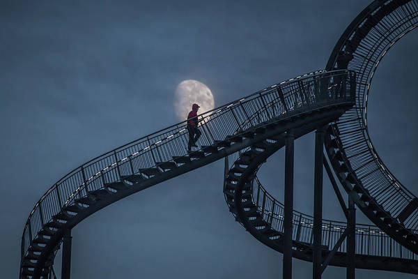 Wall Art - Photograph - Stairway To The Moon by Roelof De Hoog