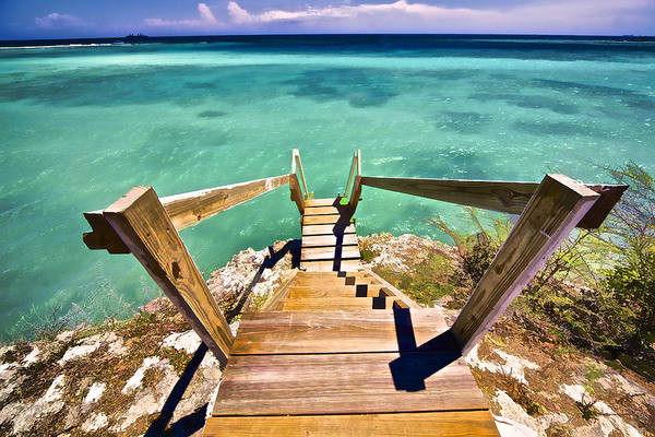 Photograph - Stairway To The Sea by David Letts