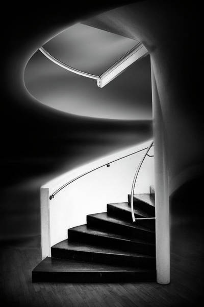 Wall Art - Photograph - Stairwell by Marc Apers