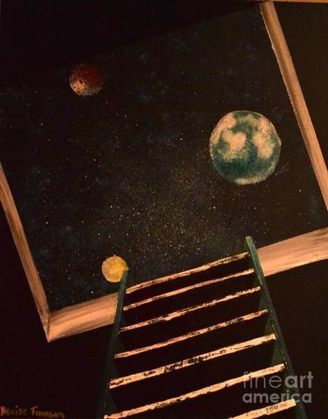Painting - Stairwell To Heaven by Denise Tomasura
