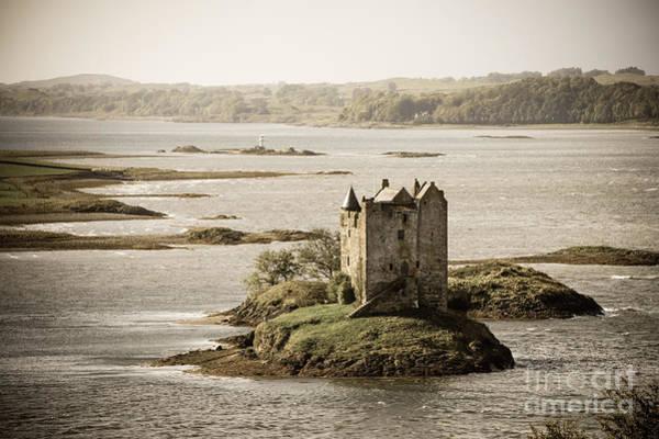 Wall Art - Photograph - Stalker Castle Vintage by Jane Rix