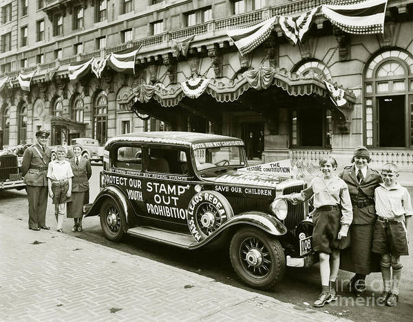 Stamp Photograph - Stamp Out Prohibition by Jon Neidert