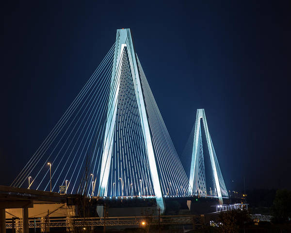 Photograph - Stan Musial Veterans' Memorial Bridge by David Coblitz