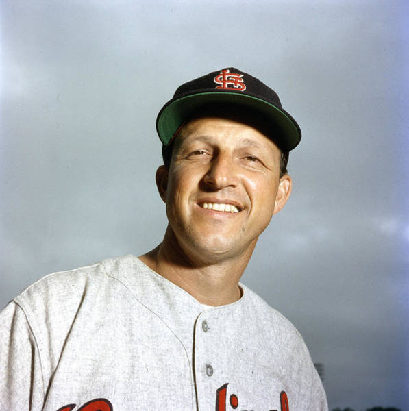 National Baseball Hall Of Fame Photograph - Stan Musial Close Up by Retro Images Archive
