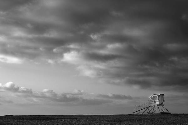 Photograph - Stand 21 - Black And White by Peter Tellone