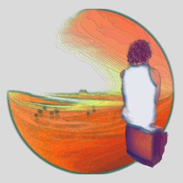 Digital Art - Stand By For Enlightenment by Laureen Murtha Menzl