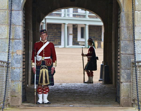 Artillery Brigade Photograph - Standing Guard by John Babis
