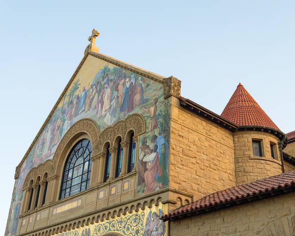 Photograph - Stanford Memorial Church by Priya Ghose