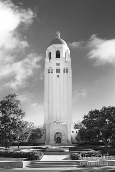 Photograph - Stanford University Hoover Tower by University Icons