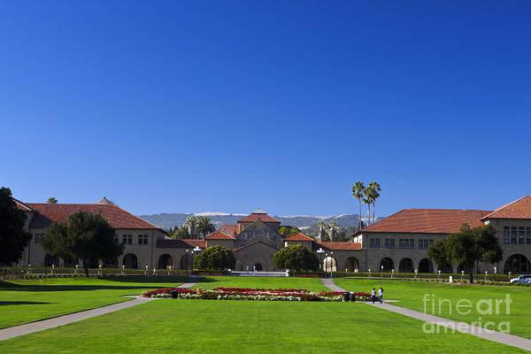 Wall Art - Photograph - Stanford University Main Quad by Jason O Watson