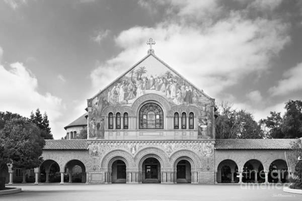 Photograph - Stanford University Memorial Church by University Icons