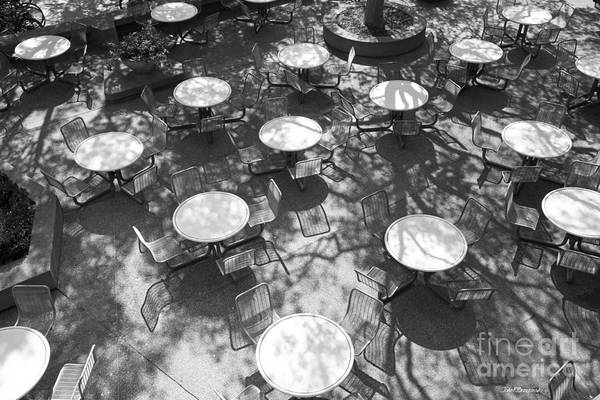 Photograph - Stanford University Tressider Union Tables And Chairs by University Icons