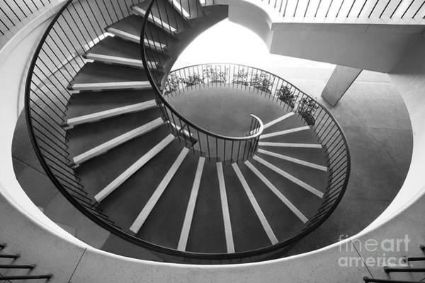 Photograph - Stanford University Tressider Union Stair by University Icons