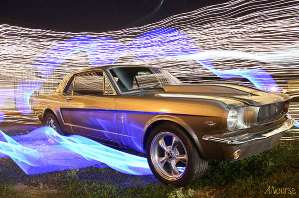 Wall Art - Photograph - Stang by Andrew Nourse