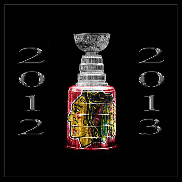 Photograph - Stanley Cup Chicago 1 by Andrew Fare