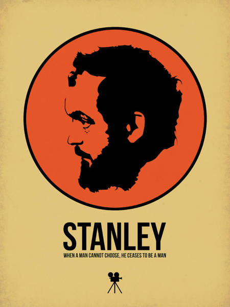 Movie Stars Wall Art - Digital Art - Stanley Poster 2 by Naxart Studio