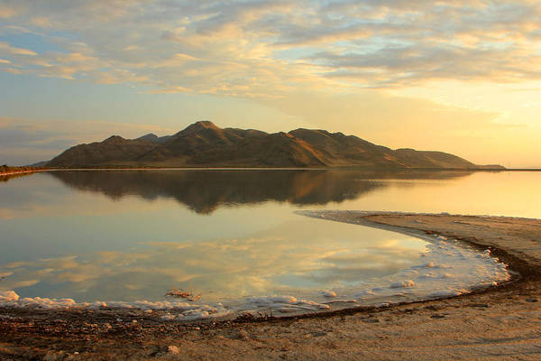 Photograph - Stansbury Island On The Great Salt Lake by Johnny Adolphson