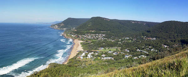 Photograph - Stanwell Park Panorama by Nicholas Blackwell