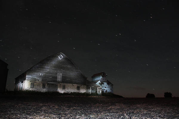 Photograph - Star Barn by David Matthews