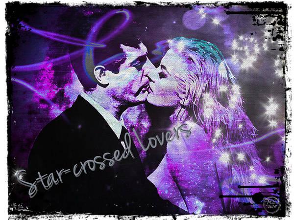 Wall Art - Digital Art - Star-crossed Lovers by Absinthe Art By Michelle LeAnn Scott
