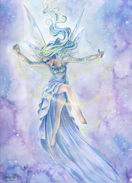 Sara Painting - Star Dancer by Sara Burrier
