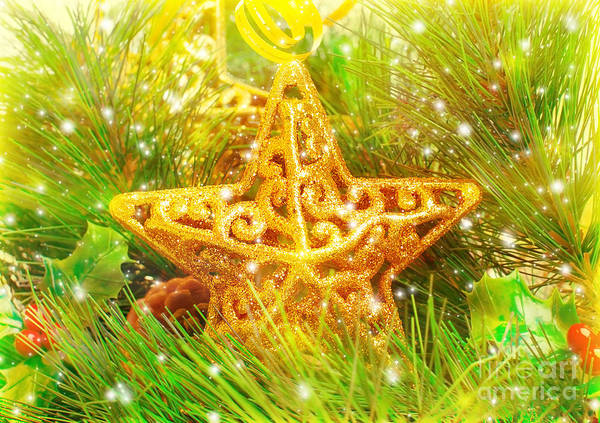 Adorn Photograph - Star Decorations by Anna Om
