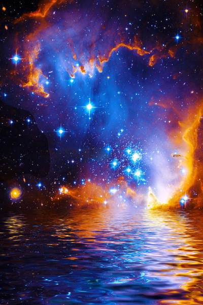 Stars As Diamonds Art Print
