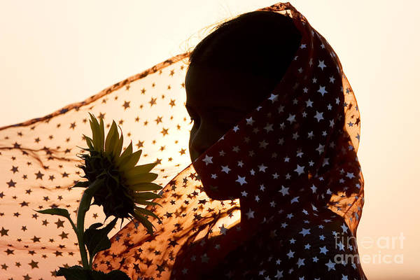 India Photograph - Star Girl  by Tim Gainey