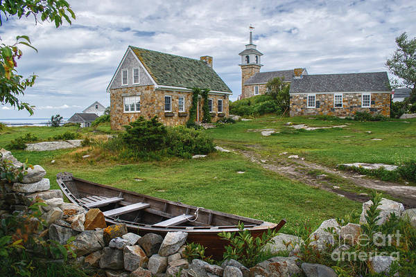 Fishing Village Photograph - Star Island Dory by Scott Thorp
