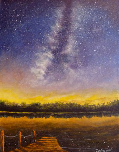 Painting - Star Lake by Dan Wagner