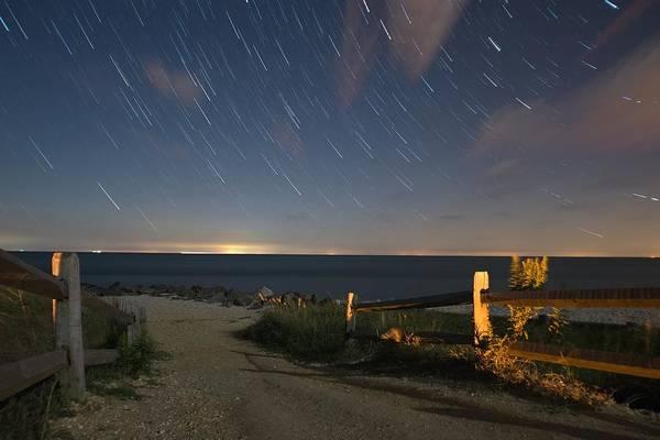 Cape May Wall Art - Photograph - Star Light Point by Kristopher Schoenleber