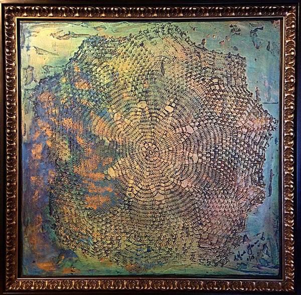 Painting - Star Masterpiece By Alfredo Garcia Art by Alfredo Garcia