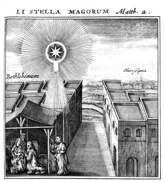 Bethlehem Photograph - Star Of Bethlehem by Royal Astronomical Society/science Photo Library