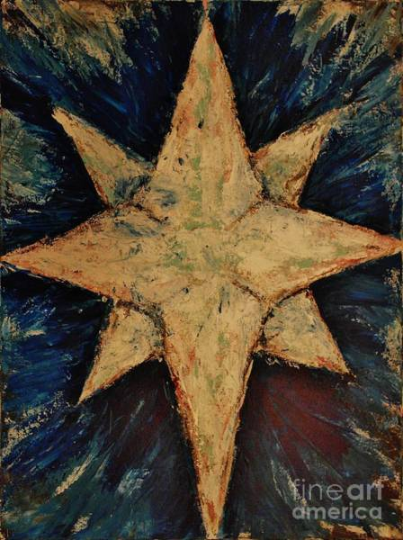Wall Art - Painting - Star Of Bethlehem by Wayne Cantrell