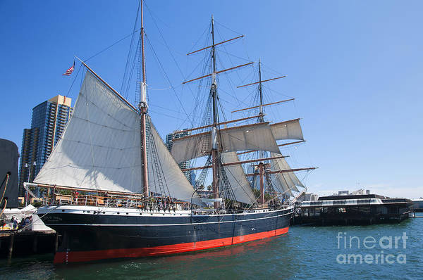 Photograph - Star Of India Tall Ship by Brenda Kean