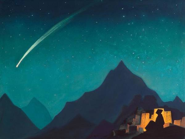 Nk Roerich Painting - Star Of The Hero by Nicholas Roerich