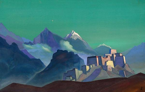 Nk Roerich Painting - Star Of The Morning by Nicholas Roerich