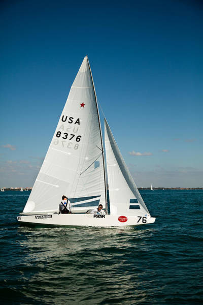 Bacardi Photograph - Star Sailboat by David Smith