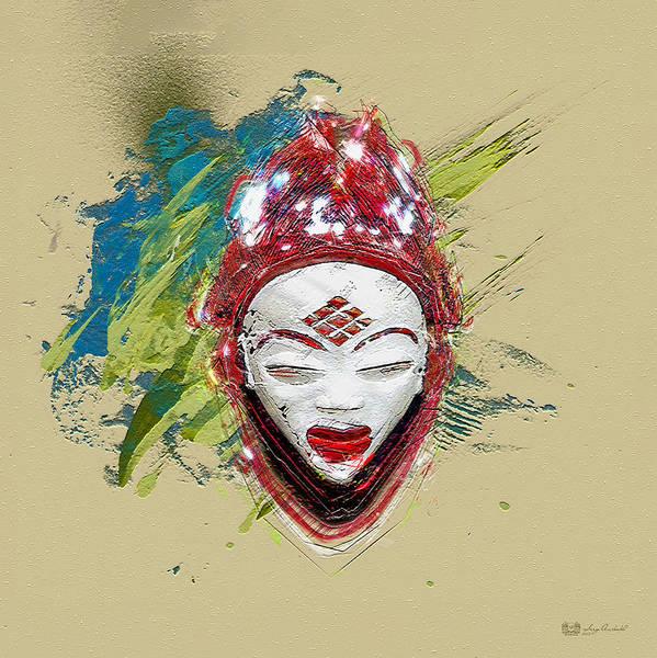 Gabon Digital Art - Star Spirits - Maiden Spirit Mukudji by Serge Averbukh