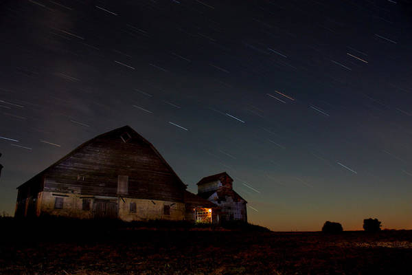 Photograph - Star Streek Barn by David Matthews