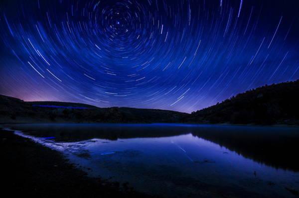 Photograph - Star Trails by Okan YILMAZ
