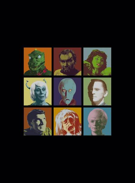 Frontier Digital Art - Star Trek - Alien Squares by Brand A