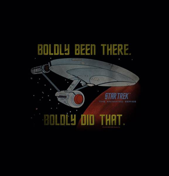 Frontier Digital Art - Star Trek - Boldly Did That by Brand A