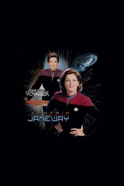 Frontier Digital Art - Star Trek - Captain Janeway by Brand A