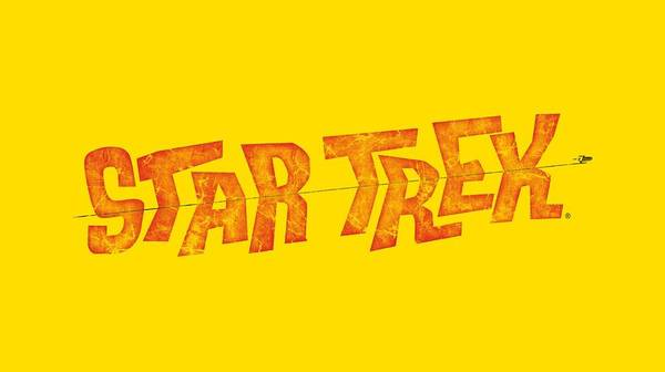Tv Wall Art - Digital Art - Star Trek - Distressed Comic Logo by Brand A