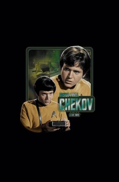 Frontier Digital Art - Star Trek - Ensign Chekov by Brand A